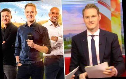 How old is BBC Breakfast host Dan Walker and why did he quit Football Focus?