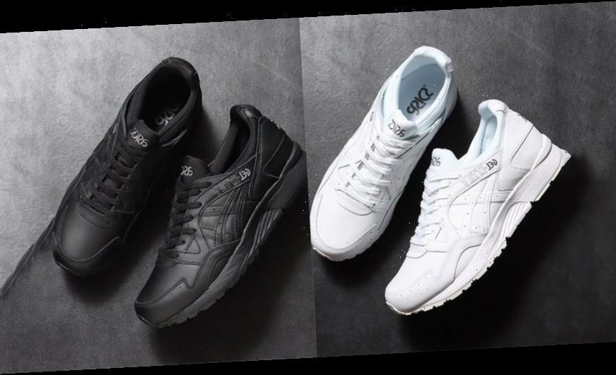 ASICS' GEL-Lyte V Launches in Two Monochromatic Colorways