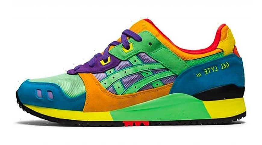 "ASICS Unveils GEL-Lyte III OG In Multi-Colored ""Tourmaline"""