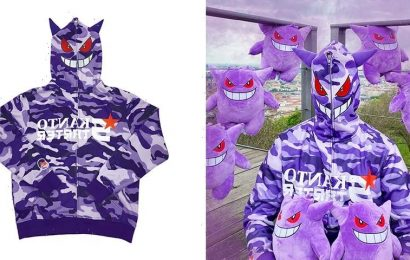 Become a Gengar With Kanto Starter's GENG HOODIE
