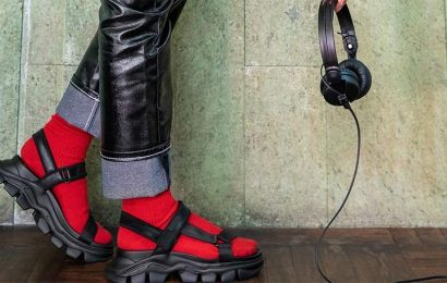 CHARLES & KEITH Taps Into The DJ Community With Dash Chunky Sandal