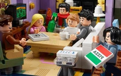 Cool Stuff: New 'Friends' Apartments LEGO Set is Packed with Tons of Series References