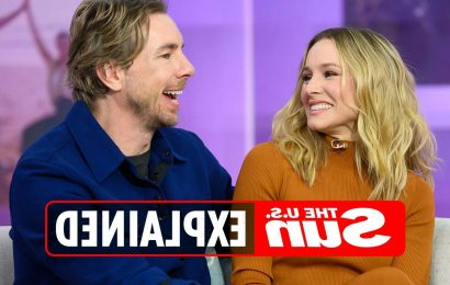How long have Dax Shepard and Kristen Bell been married?