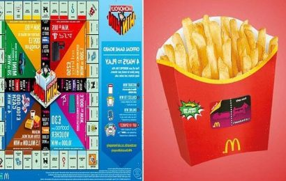 McDonald's teases start date of its new Monopoly game