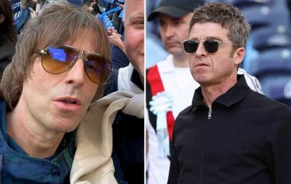 Noel Gallagher and brother Liam both arrive in Porto for the Champions League final days after reigniting feud