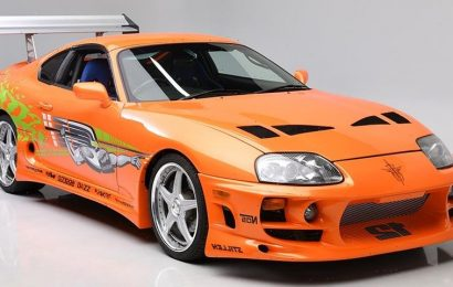 Paul Walker's 'Fast & Furious' Toyota Supra Is for Sale