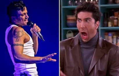 Peter Andre reveals he's NEVER seen an episode of Friends despite performing at David Schwimmer's wedding