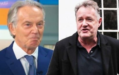 Piers Morgan rages at Tony Blair for 'bowing to woke mob' in 'humiliating' GMB interview