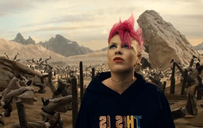 Pink Tells Story of Her Life to Daughter in 'All I Know So Far' Video