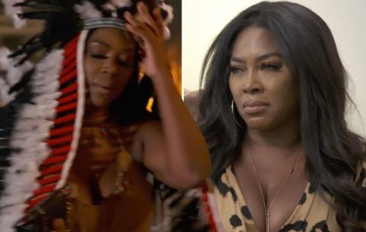 RHOA star Kenya Moore's 'offensive' Native American Halloween costume 'edited out of episode' after fan outrage