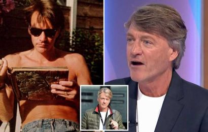 Richard Madeley shocks viewers as he reveals his age on his birthday as Loose Men star shows off abs in old snap