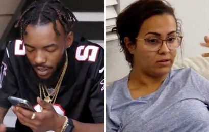 Teen Mom Briana DeJesus claims daughter Nova, 9, cried 'my dad forgot about me' while Devoin says it 'wasn't a big deal'