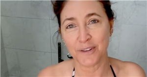 This Morning's Lisa Snowdon, 49, wows as she strips to string bikini in shower