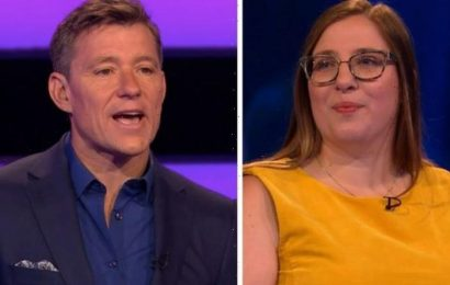 Tipping Point's Ben Shephard mocks nurse as she gets medical question wrong: 'Too busy!'