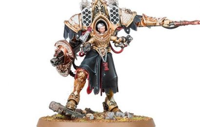 'Warhammer 40K' Brings Back the Adepta Sororitas With Supreme Commander Morvenn Vahl