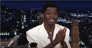 """When Lil Nas X Split His Pants on SNL, All He Could Think Was, """"Please, God, No"""""""