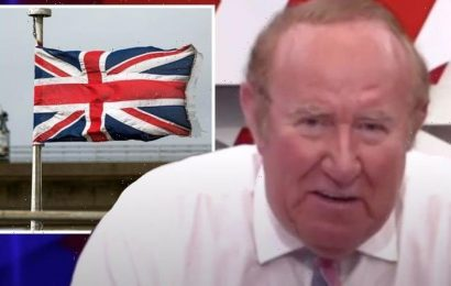 Andrew Neil mocks ban over Union Jack flag being shown: 'They have the power to do that?'