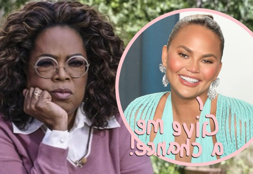 Chrissy Teigen Wants To Go On TV With Oprah To Clear The Air?!