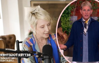 EXCLUSIVE! Anne Heche Answers Our Burning Questions About Ellen!