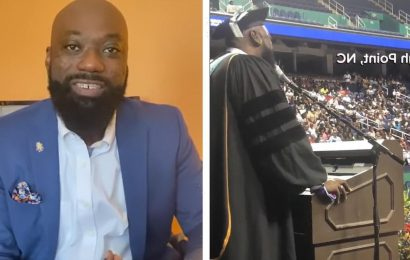 High School Principal Blows Graduation Away with I Will Always Love You Performance