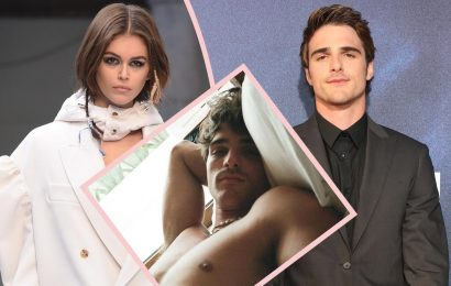 Kaia Gerber Posts SEXY AF Birthday Pic Of Jacob Elordi After Saying Their Relationship Is More Than 'Lust'