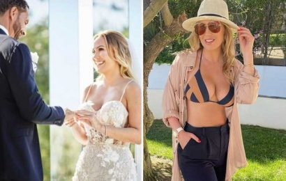 Kate Ferdinand breaks down in tears as Rio's sister shares unseen pic of wedding to celebrate star's 30th birthday