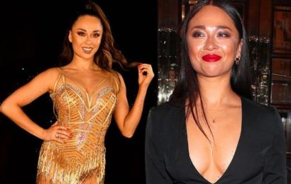 Katya Jones: Strictly star got intimate in woods after car became too uncomfortable