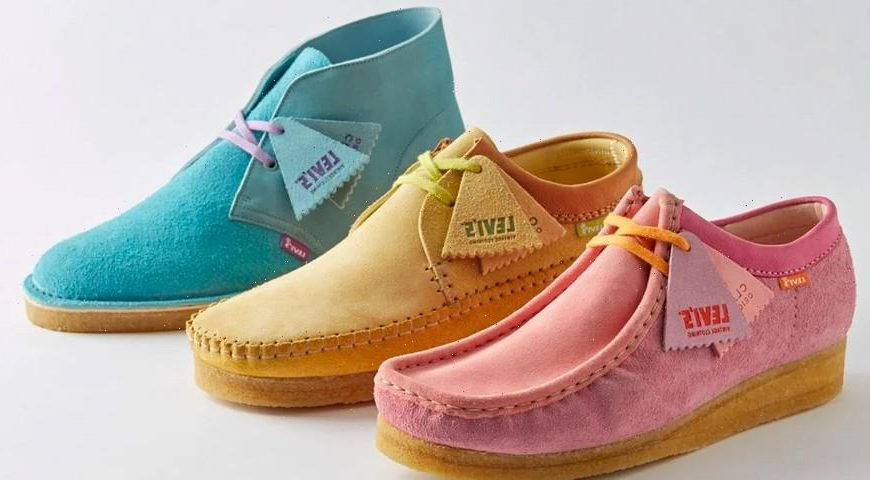 Levi's Vintage Clothing Joins Forces With Clarks Originals for Manchester-Inspired Collection