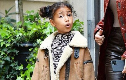 North West Celebrates 8th Birthday With Poop Emoji Onesies For Hilarious Themed Party