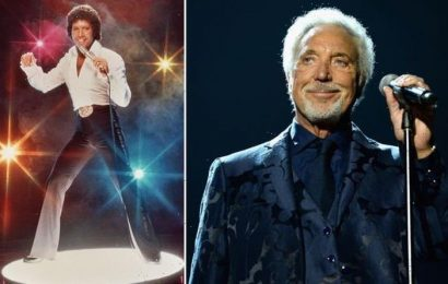Tom Jones feeling 'pretty fit' at 81 but too old for fans throwing their knickers at him