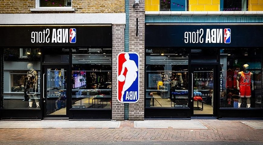 An Exclusive Look Inside the U.K.'s First NBA Store