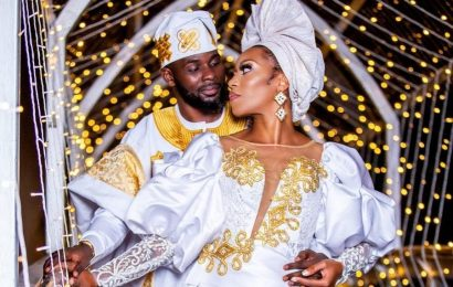 Bridal Bliss: After Meeting On Instagram, Sydaiya And Sheriff Married In Tanzania