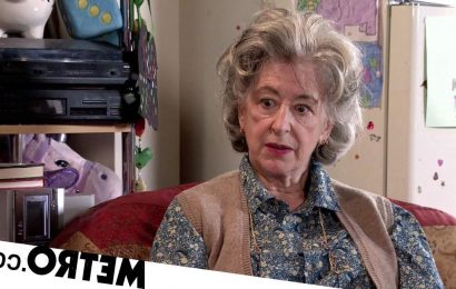 Corrie's Maureen Lipman was unable to hold husband's hand as he died