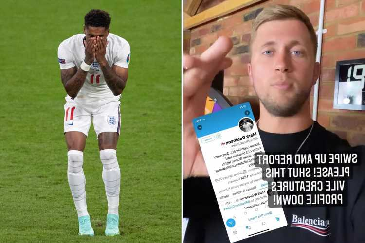 Dan Osborne calls out 'racist vile horrible' troll using his pictures to abuse England footballers on Twitter