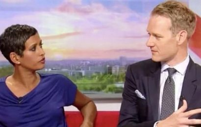 Dan Walker and Naga react to grudge match offer from GMB rival Martin Lewis