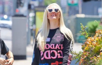 Erika Jayne Boards Private Jet Ahead Of 50th Birthday & Amid Legal Troubles – See Pics