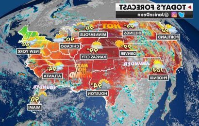 Heat warnings, advisories blanket most of central US