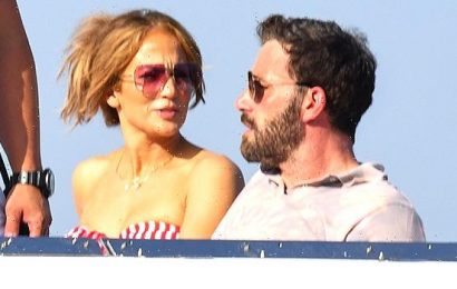 Jennifer Lopez Rocks Strapless Red Bikini As She Snuggles Up To Ben Affleck In Italy  Photos