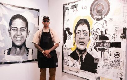 Ju Working on Projects Debuts 'Painting the Blueprint' Solo Show