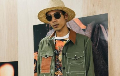 Junya Watanabe Takes Inspiration From Jamie Hawkesworth for His SS22 Collection