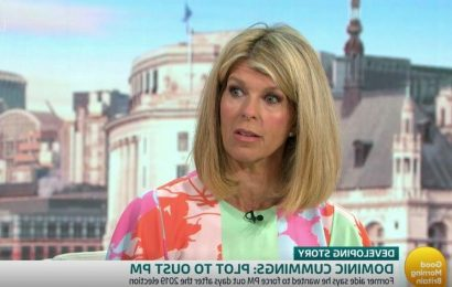 Kate Garraway steps in to apologise after Good Morning Britain guest swears live on air