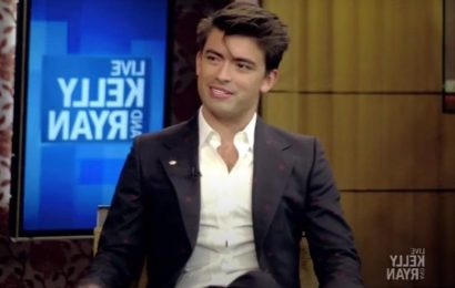 Michael Consuelos Shares Family Secrets While on 'Live'