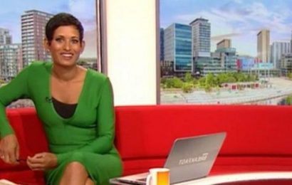 Naga Munchetty tells off co-star Charlie after he doesnt answer footy question