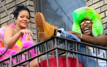Rihanna Rocks Hotpants on Date Night With A$AP Rocky: See the Pic!
