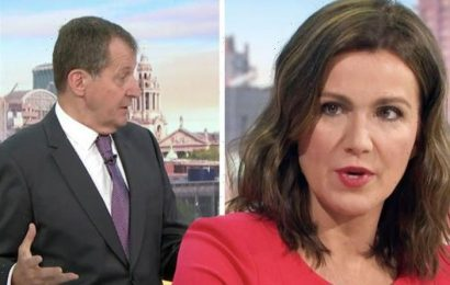 Thats unfair! Susanna Reid hits out at Alastair Campbell after attack on Sajid Javid