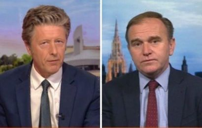 Why did it take so long? Charlie Stayt snaps at Eustice over response to food shortages