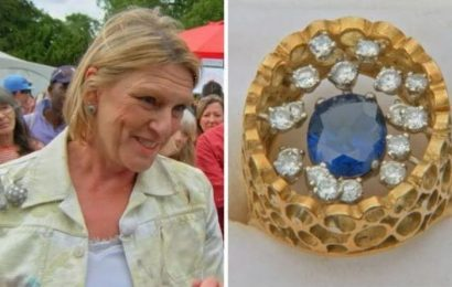 Antiques Roadshow expert's 'heart jumped' valuing enormous sapphire ring Keep it safe