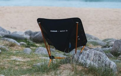 Helinox Recruits Finisterre to Craft Recycled Camping Chair