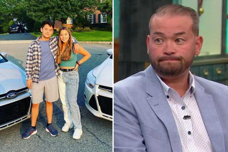 Jon Gosselin posts rare photo of son Collin, 17, one year after nasty fight as teen heads to school with sister Hannah