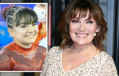 Lorraine Kelly reacts as fans think they spot her at Tokyo Olympics I am very bendy!